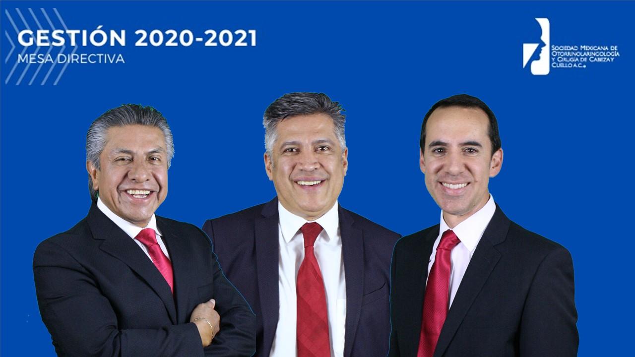 Mesa Directiva SMORLCCC 2020 - 2021